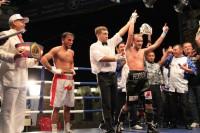 Чебоксарский профессиональный боксер Александр Федоров выиграл матч за звание чемпиона России в полулегком весе до 57 кг