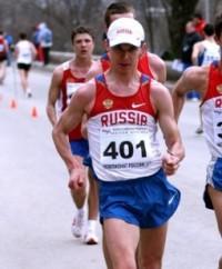 Гран-при России-2012 по спортивной ходьбе Петр Трофимов