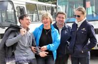Галина Желонкина (вторая слева) правила знает лучше всех. Фото О. МАЛЬЦЕВА.