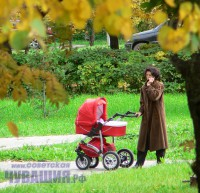 материнский капитал мама с коляской