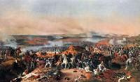 Сражение при Бородино 26 августа 1812 года. Художник Петер фон ГЕСС.