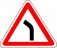 знак опасный поворот