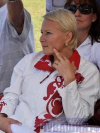 Олимпиада Иванова, чемпионка мира, серебряный призер Олимпиады -2004 в Афинах по спортивной ходьбе