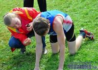 спортсмен бегун упал медпомощь