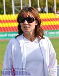 Алина Иванова, чемпионка мира и Европы по спортивной ходьбе, участница XXV Олимпийских игр