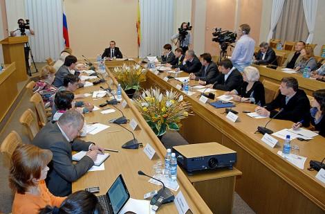 6 сентября состоялась пресс-конференция Главы республики Михаила Игнатьева.