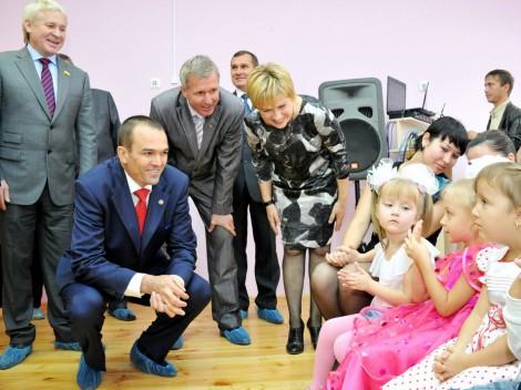 В Новочебоксарске впервые за последние два десятка лет открылся новый детсад. Назвали его «Маленькая страна». <br> Фото Б. Филатова