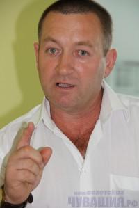 Глава администрации Красночетайского района А.В. Башкиров