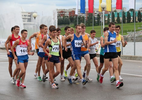 На набережной Чебоксарского залива состоялся розыгрыш Кубка России по спортивной ходьбе.