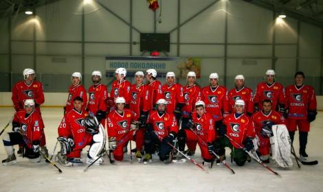 Новочебоксарский «Сокол» начал сезон-2012/13. <br> Фото с сайта fhcsokol.n4eb.net
