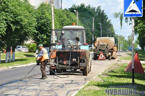 ремонт дорог дорожные работы