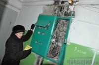 электрощитовая электросчетчики счетчики подъезд пожар