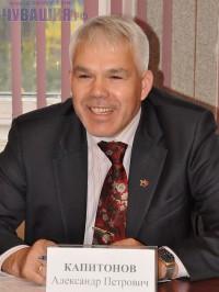 Председатель совета директоров агрофирмы «Слава картофелю» А. Капитонов