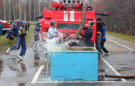 пожарные спасатели мчс соревнования