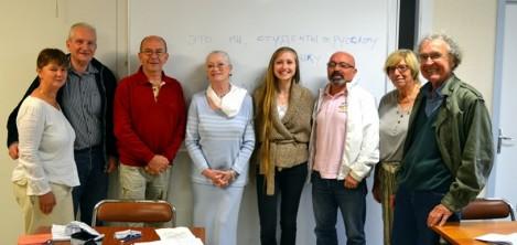 Лариса Матросова с учениками