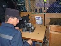 зона колония тюрьма швейный цех производство трудотерапия