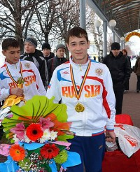 Самбист Артем Щербаков