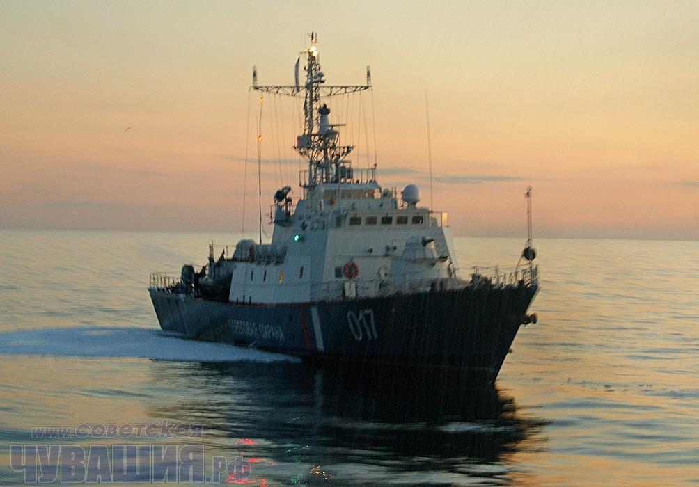 пограничный сторожевой корабль чебоксары
