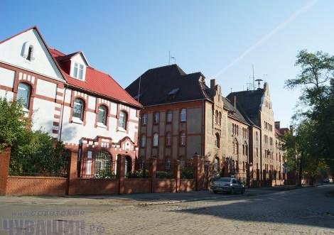 Старый район Балтийска <br> Фото А. СОЛОВЬЕВА