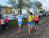 В субботу в селе Октябрьское Мариинско-Посадского района состоялись традиционные соревнования по спортивной ходьбе на призы знаменитой олимпийской чемпионки Елены Николаевой.