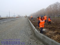 строительство дороги к новому городу чебоксары чувашия
