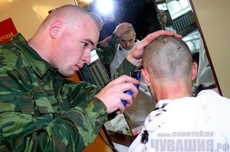 призыв армия 2012 новобранцы наголо