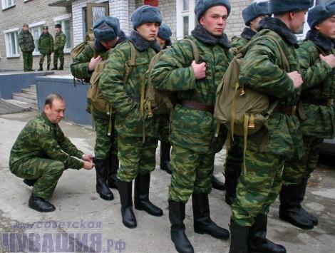 новобранцы призыв 2012 армия
