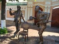 чебоксары памятник остапу бендеру и кисе воробьянинову чебоксары