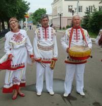 чувашский национальный костюм