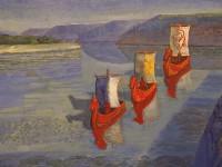 «Сказ о Волге» («Волга былинная») работы Анатолия Миттова