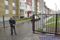 двор автомтические ворота шлагбаум