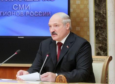 Александр Лукашенко пресс-тур российские журналисты