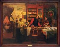 «Чайная». 1912 г. А. Кокель