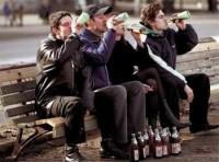молодежь подростки пиво