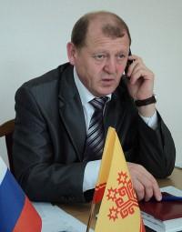 Глава администрации Урмарского района Константин Никитин.