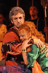 "Опера Джузеппе Верди ""Аида"". <br> Фото О. МАЛЬЦЕВА"