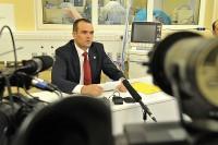 Глава Чувашии Михаил Игнатьев вышел позавчера на связь с Президентом страны во время проводимой им видеоконференции по программе модернизации здравоохранения.