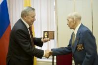 Участник героической обороны Севастополя Мирон Ефимов отметил 70 лет со дня присвоения ему звания Героя Советского Союза.