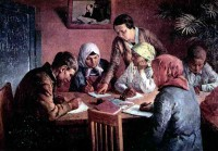 «Ликбез». 1935 г. А. Кокель