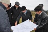 Начало строительства школы на 200 мест и детсадом на 40 мест в деревне Татарские Сугуты Батыревского района.