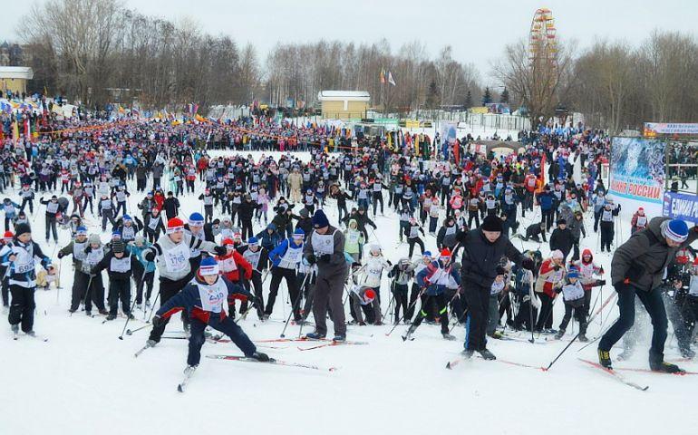 лыжня россии чебоксары чувашия