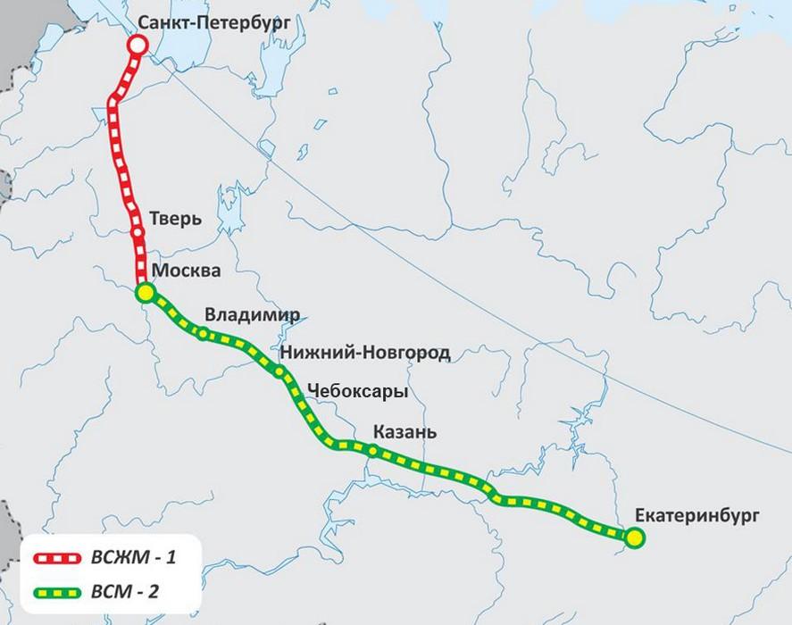 магистраль «Москва-Казань-