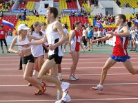 Евгений Плотников бег