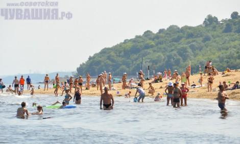 пляж чебоксары