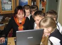 учительница ученики