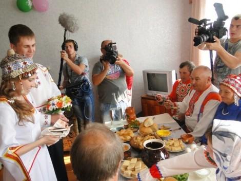 чувашская свадьба рен-тв