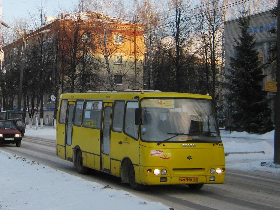 автобусных маршрутов.