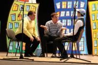 Актуальные вопросы наши кавээнщики обсуждают и на сцене. Фото с сайта pp.kv.me.