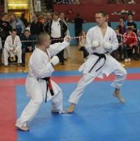 На татами Никита Беловощев (справа). Фото клуба Будокан
