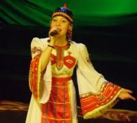 Виктория Иванова покорила всех пением без инструментального сопровождения.